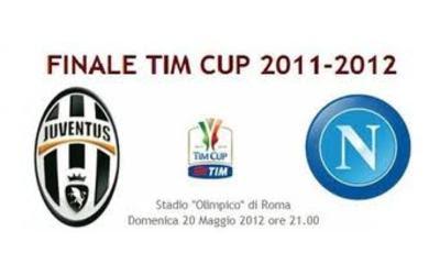 Juventus-Napoli streaming Finale Coppa Italia 20 Maggio
