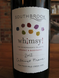 Southbrook Whimsy! Cabernet Franc 2012 - VQA Four Mile Creek, Niagara Peninsula, Ontario, Canada (90 pts)