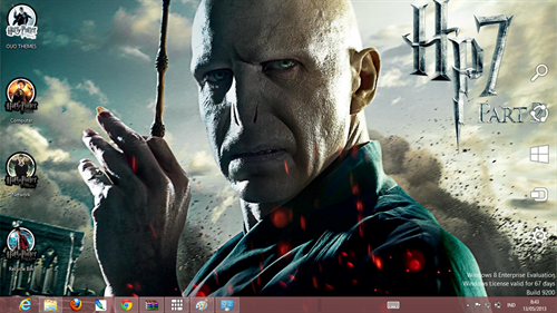 Harry Potter Theme For Windows 7 And 8