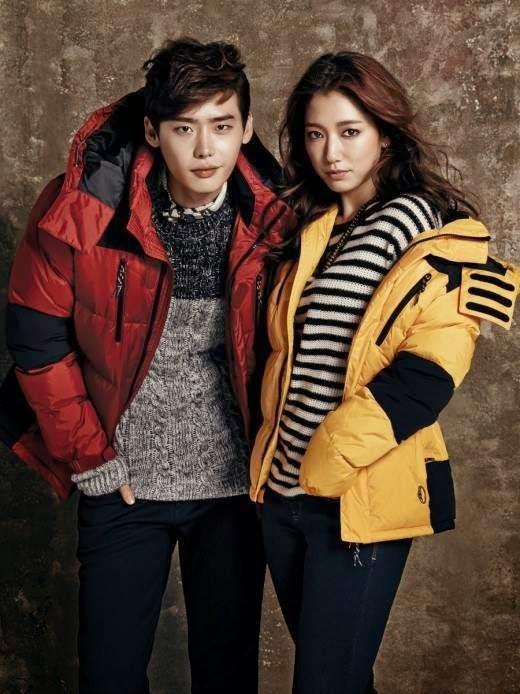 Lee jong suk dan park shin hye