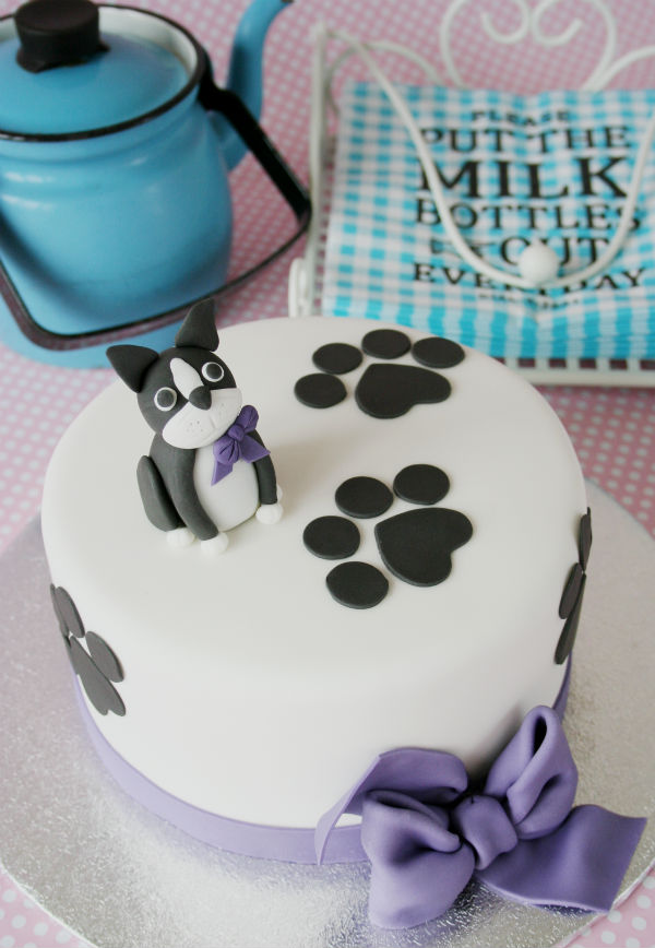 DOG SHOWER CAKE