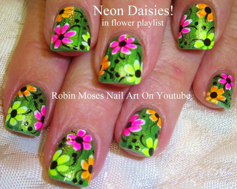 Robin moses nail art nail art neon neon nails summer nail nail art tutorials hot nail tutorial designs for party girls prinsesfo Choice Image