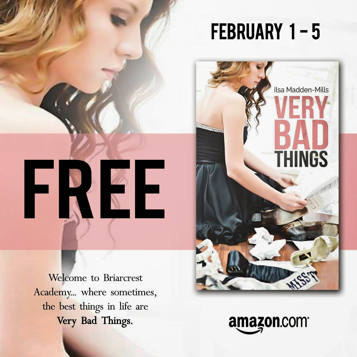 {Sale Alert} Very Bad Things FREE & Very Wicked Things by Ilsa Madden-Mills $.99!
