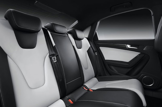 2013 Audi S4 Saloon Interior Back view