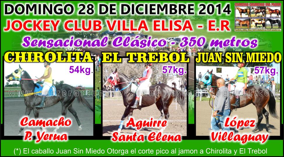VILLA ELISA - CLASICO 350