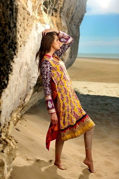 Firdous Eid Exclusive Shirts for Eid 2014