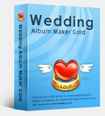 WEDDING ALBUN MAKER GOLD 3.50 FULL