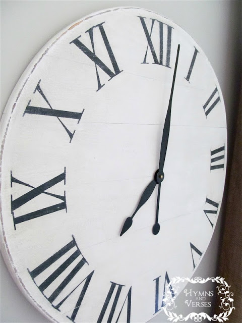 hymns and verses knock off ballard designs wall clock for