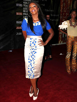Christie Brown Arise Fashion Week