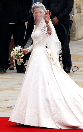 Watch Pippa Middleton is A Stunning Bride in a Wedding Dress by Giles Deacon video