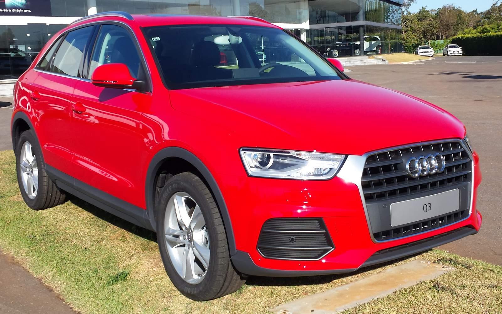 Audi Q3 2016 - SUV de luxo mais vendido do Brasil