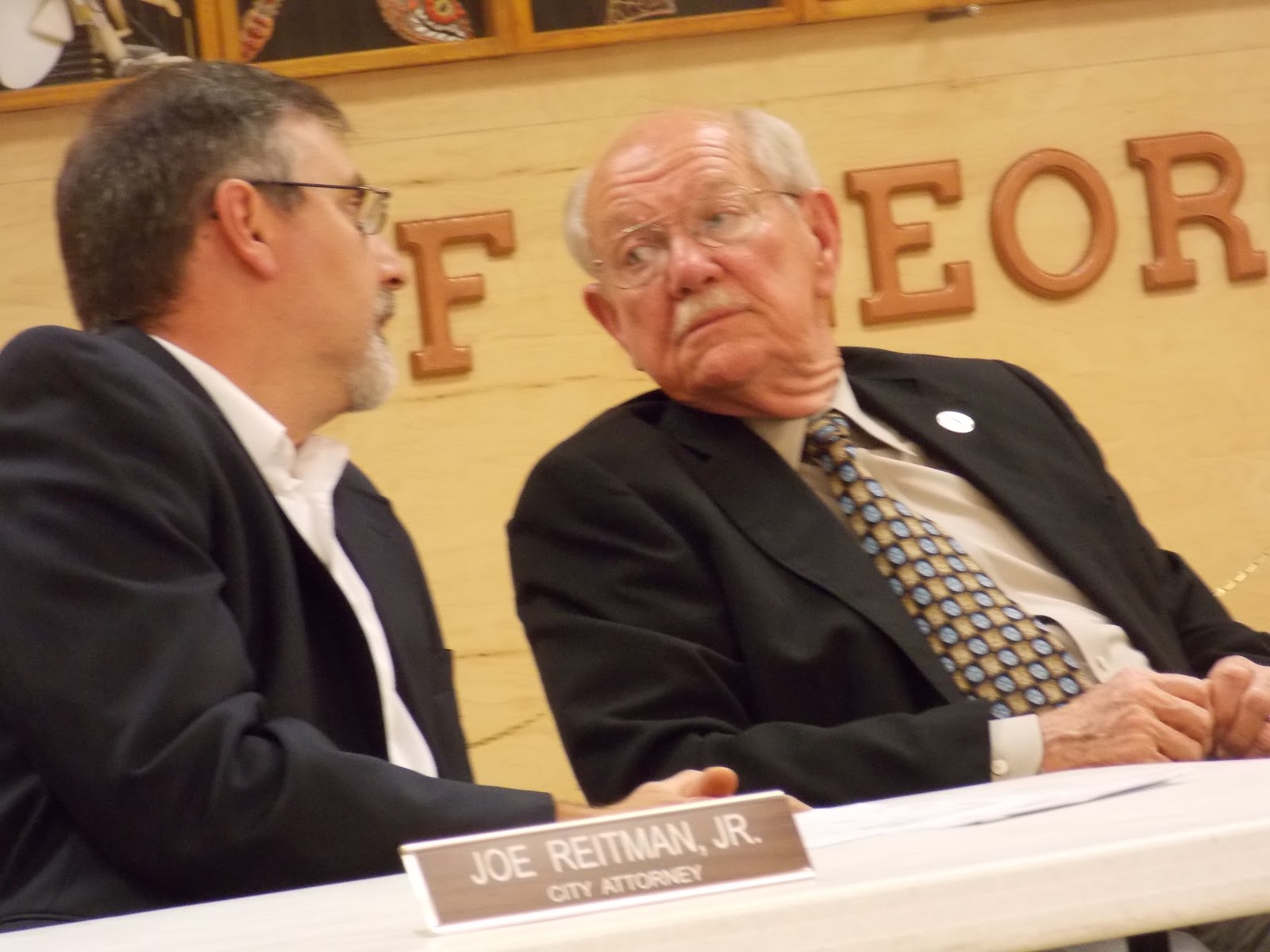 mayor ivie listens to reitman with unintended consequences wanting to be avoided in any rush to change zoning
