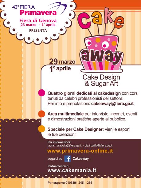 Cake Design Genova Corsi : Bloggoloso: I miei corsi di cake design al Cake Away alla ...