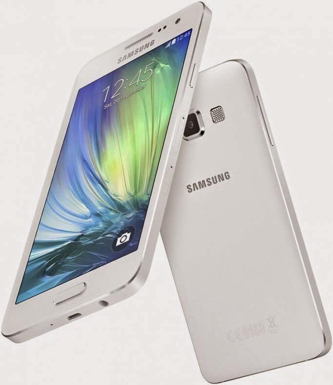 Мобильный телефон Samsung SM-A700F Galaxy A7 White стильный современный смартфон для общения и развлечений