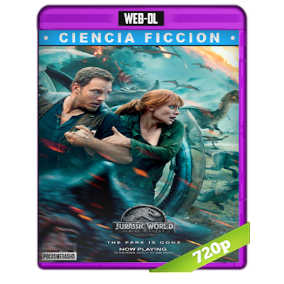 Jurassic World El Reino Caido (2018) WEB-DL 720p Audio Dual Latino-Ingles 5.1