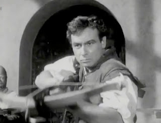 Conrad Phillips in the opening credits of 'William Tell""