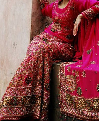 Beautiful wedding bridal lehenga