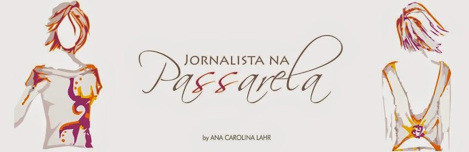 Jornalista na Passarela