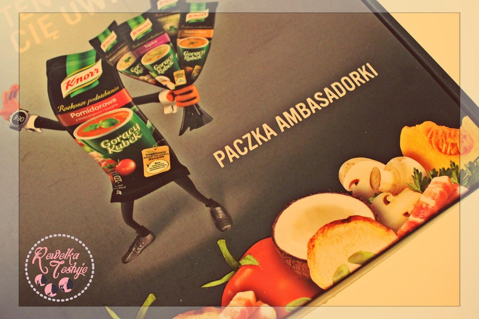 Nowa smakowita kampania Ambasady Trendów - tym razem rozkosz dla naszego podniebienia z Knorrem