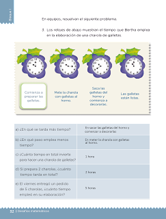 Respuestas Apoyo Primaria Desafíos matemáticos 3er grado Bloque 1 lección 13 Elaboración de galletas