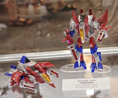 Starscream Generations Fall of Cybertron deluxe