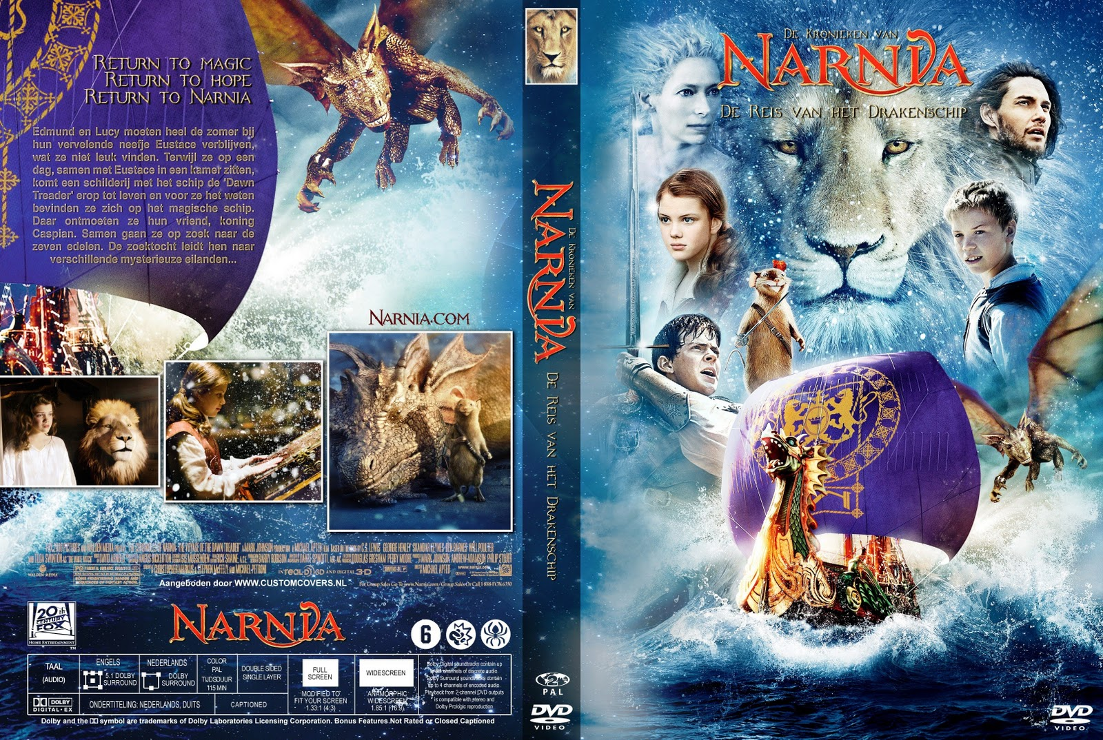 [2010] Chronicles of Narnia - Voyage Of The Dawn Treader (Score)