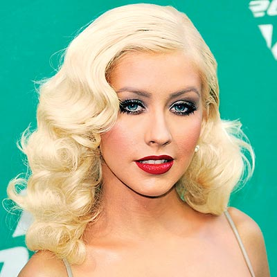 christina aguilera lady gaga  copy hair