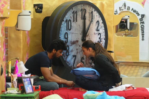 Keep the track task in Bigg Boss house