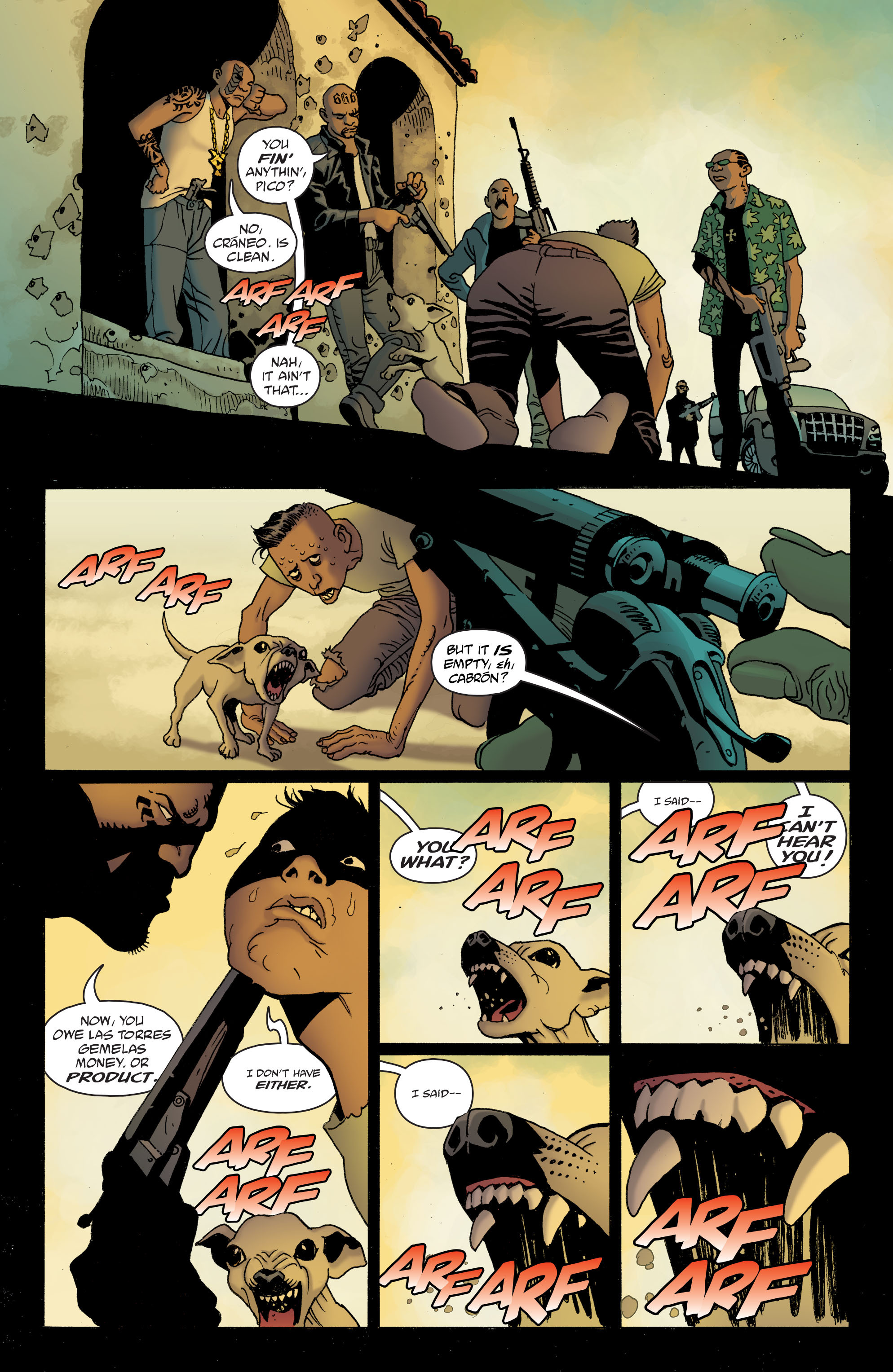 100 Bullets: Brother Lono Full Page 59
