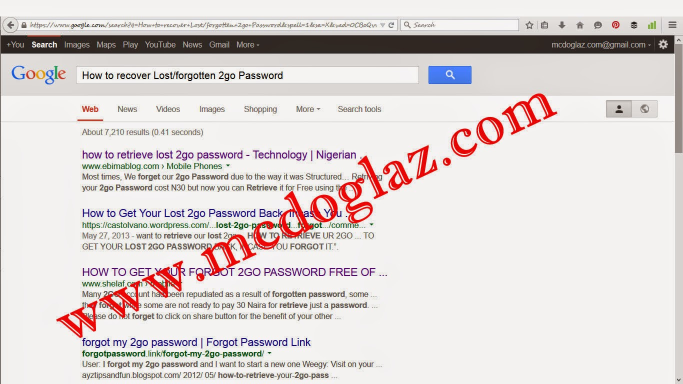 how to recover a live forgotten password