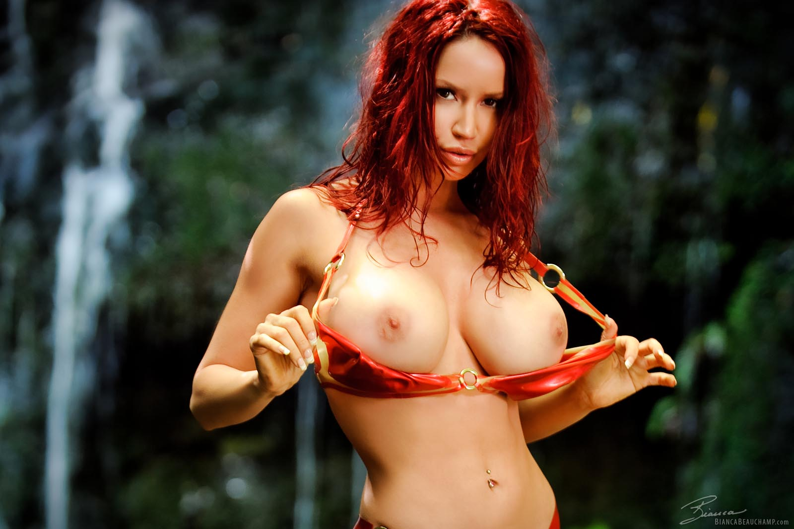 Bustybusty Really Busty Boobs Bianca Beauchamp Paradise