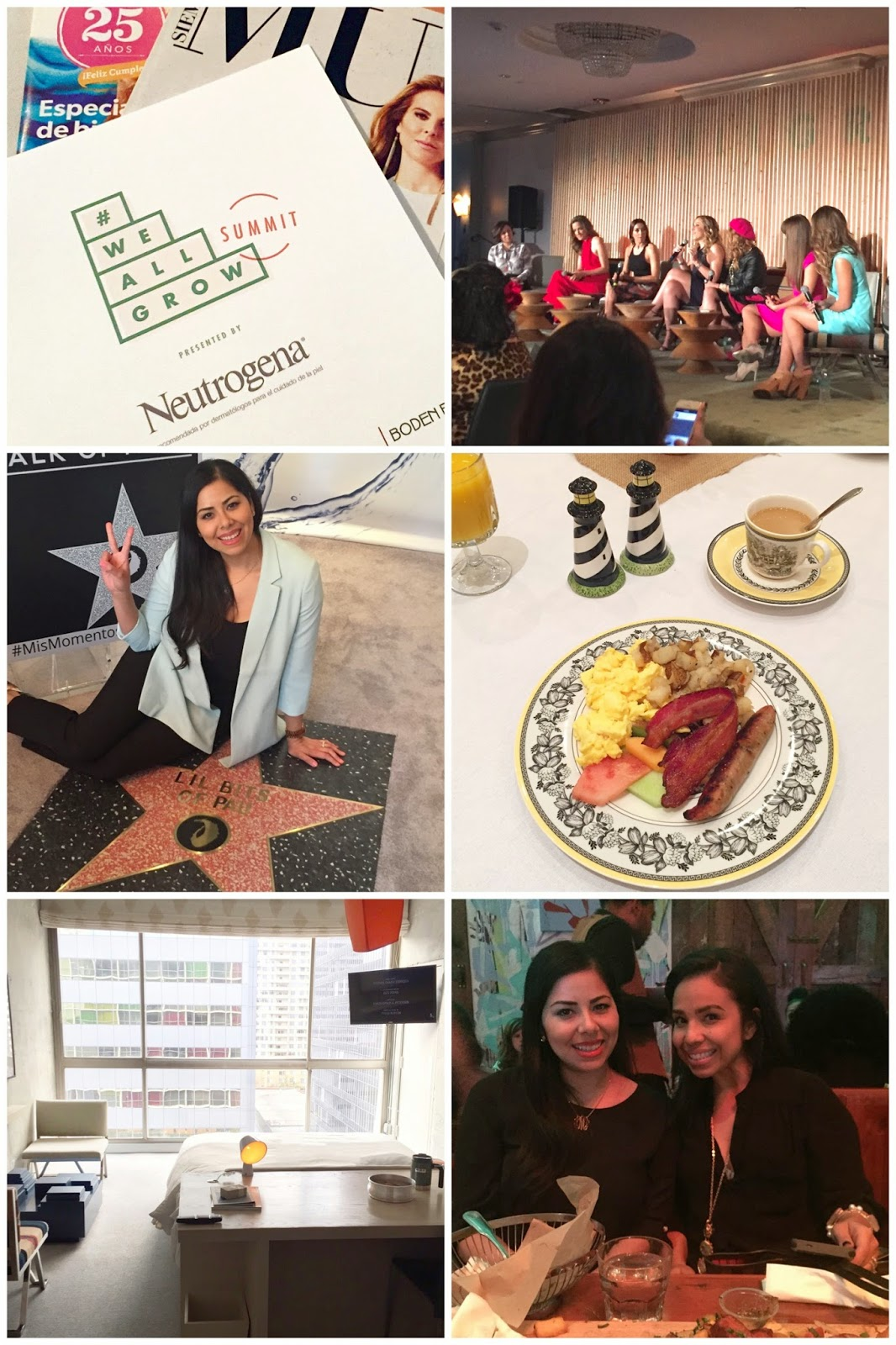We All Grow Summit Recap, #WeAllGrow Conference, We All Grow latina bloggers, latina bloggers connect conference