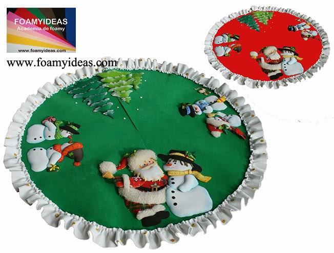 FOAMYIDEAS: Decorativo y único Pié de árbol de Navidad (en ...
