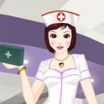 Vestir uniformes de enfermera