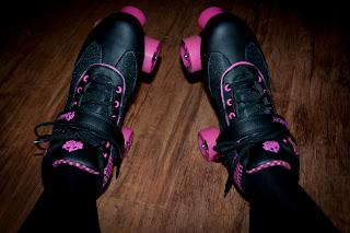 Pink roller skate wheels