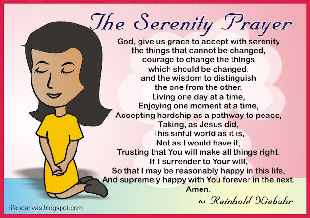 serenity prayer artwork
