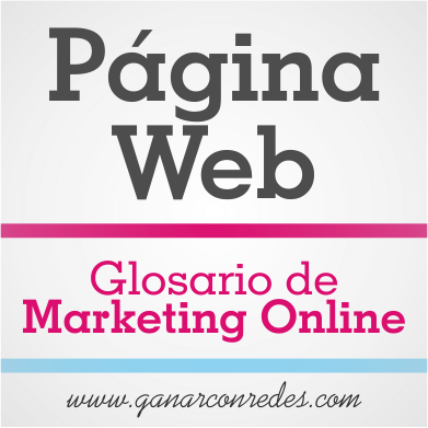 Página Web | Glosario de marketing Online