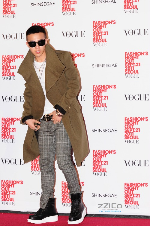 g-dragon vogue fno september 2011