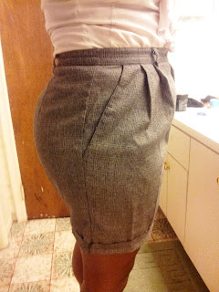 Granny Pants Alteration on UpcycleFever