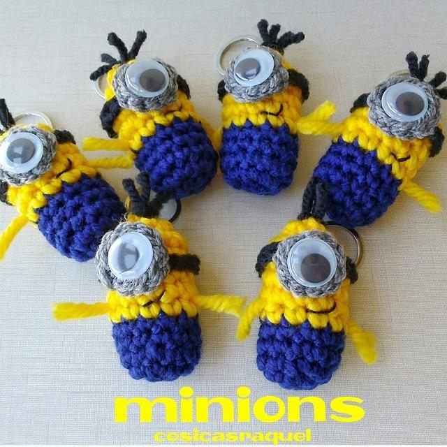 Minions Amigurumi Llavero : Cosicasraquel llavero minion crochet