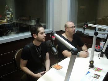 Claudiney Prieto y Christian Ortiz (Brasil - Radio Mundo)