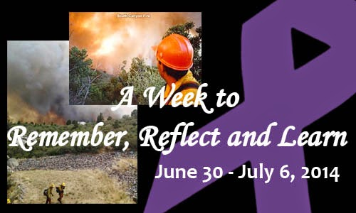 """A Week to Remember, Reflect and Learn"" 2014"
