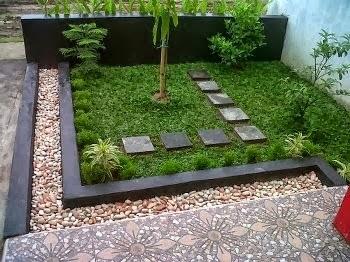 Desain Taman Rumah Minimalis Sederhana 3