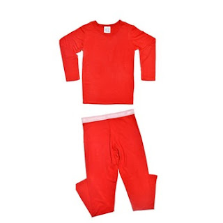 girls underwear set, miss milano red, organic, kids clothing