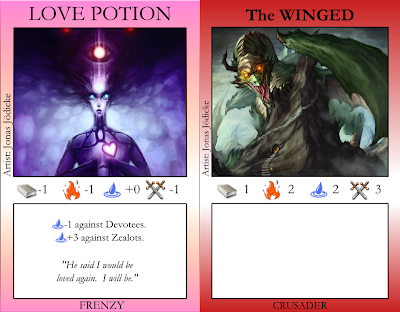 Love Potion, The Winged