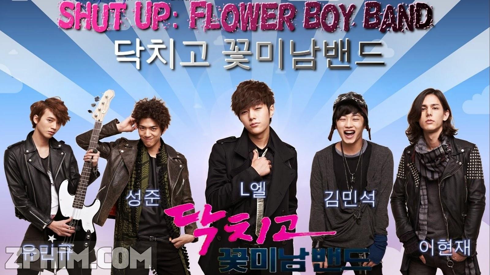 Ảnh trong phim Ban Nhạc Mỹ Nam - Shut Up: Flower Boy Band 1