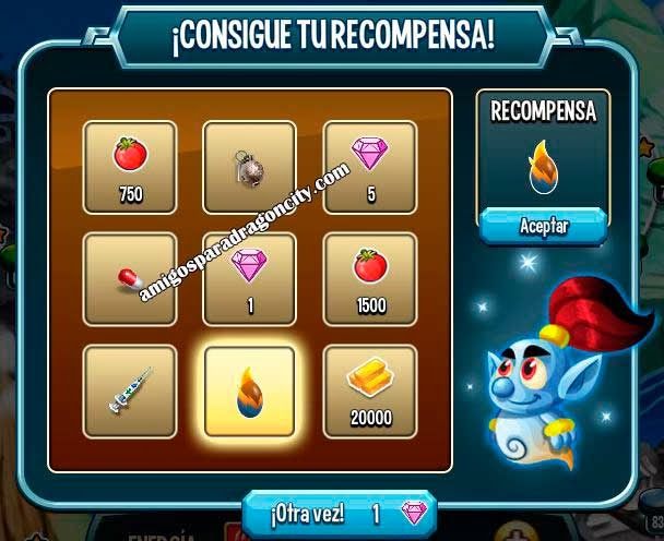 imagen de la recompensa de la ruleta de la fortuna de monster legends