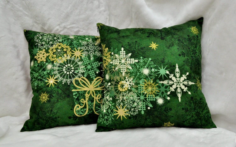 красно-зеленые подушки