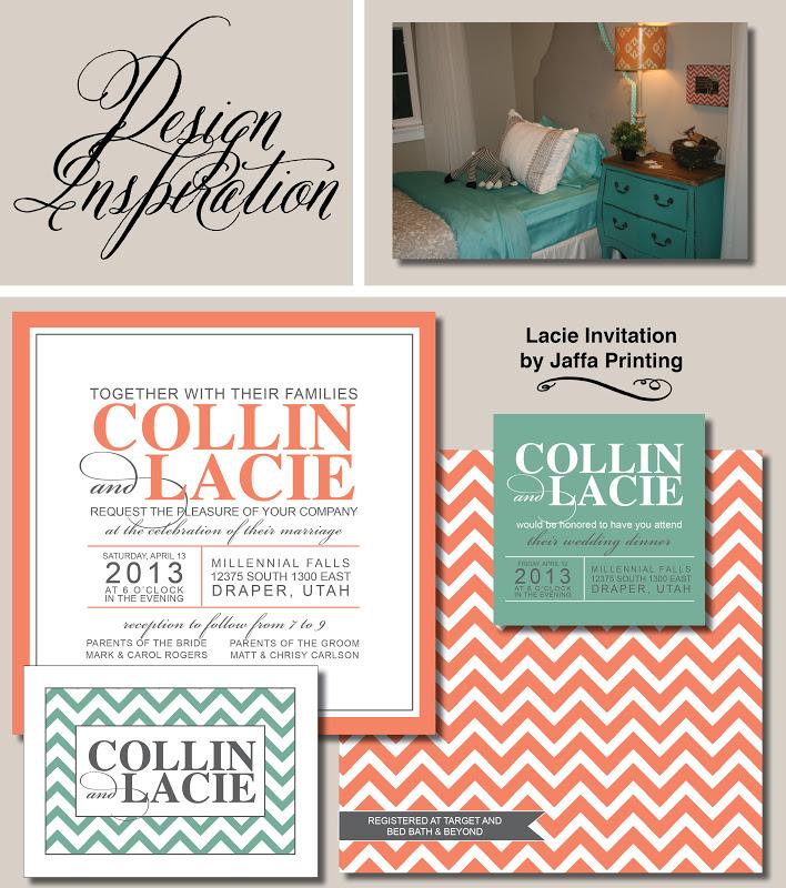 Wedding Invitation Blog Design Inspiration Modern Wedding Invitation