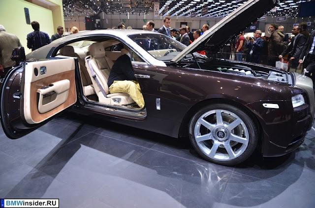 Rolls-Royce Wraith на автосалоне в Женеве 2013
